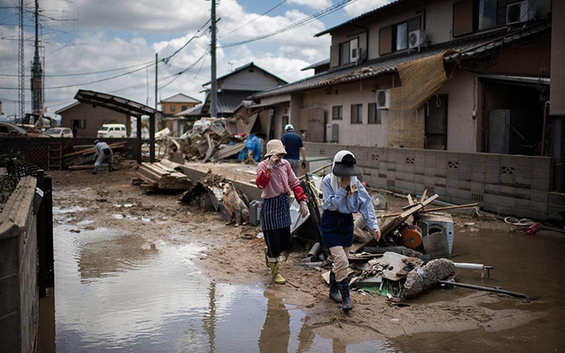 No hay mexicanos afectados por lluvias en Japón; la SRE expresa condolencias