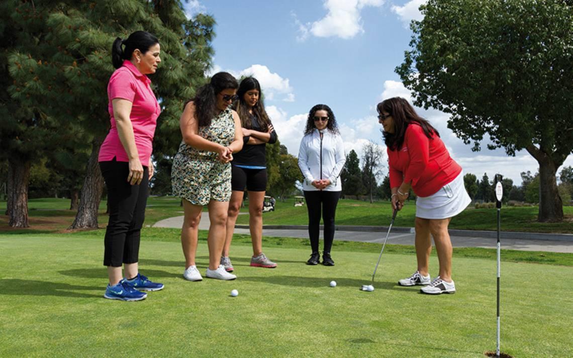 Golf, deporte con una fuente de ingresos y beneficios para empresarias latinas