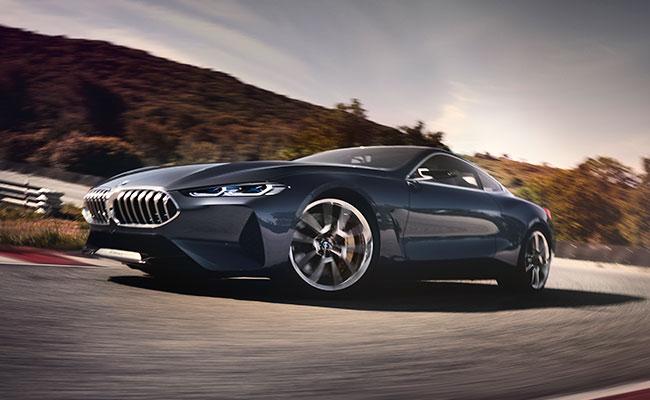 Conoce al BMW Serie 8 Concept, ultradeportivo y moderno