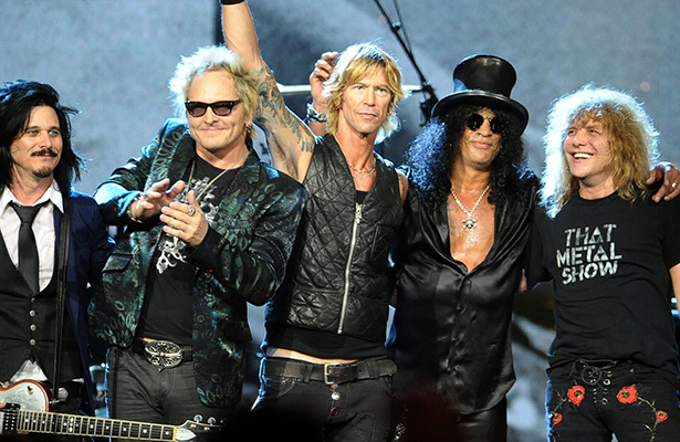 "Guns N' Roses lanzará reedición de su álbum ""Appetite for Destruction"""