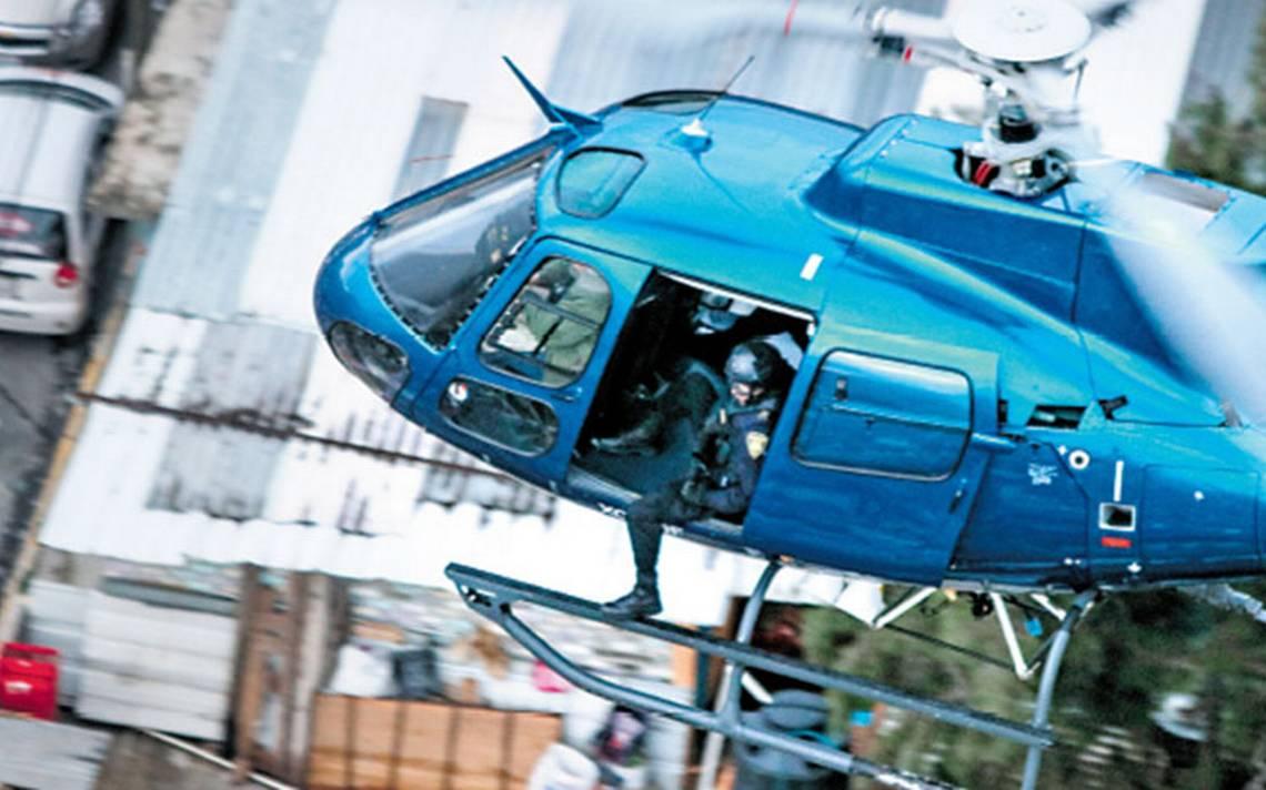 Fuerza cóndor abate el crimen desde las alturas de la CDMX