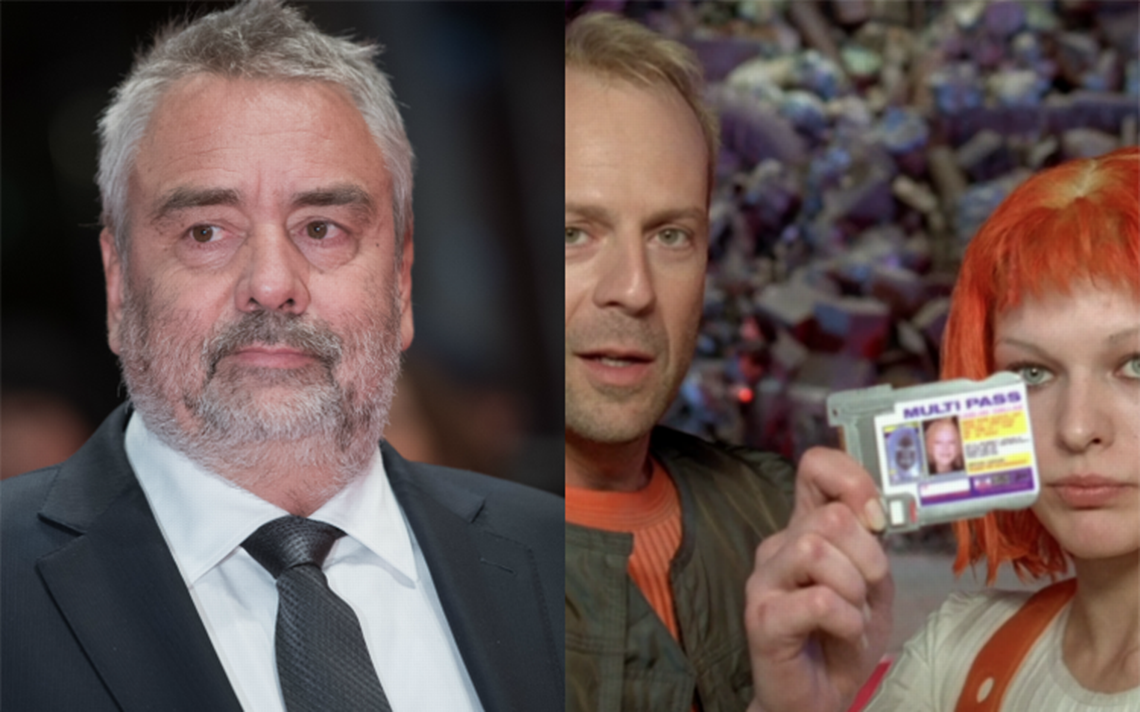 """Actriz denuncia haber sido violada por Luc Besson, director de """"El quinto elemento"""""""