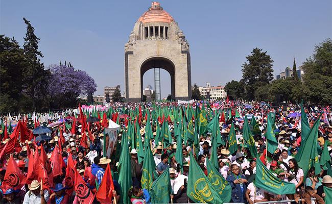 Movilizaciones por Día de la Mujer afectan la vialidad en la Ciudad de México