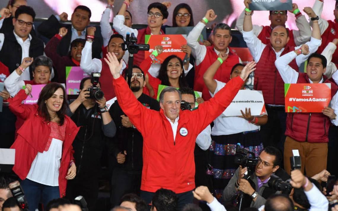 """""""Nos vamos… pero a Los Pinos""""; Meade reafirma que cuenta con el mejor proyecto"""