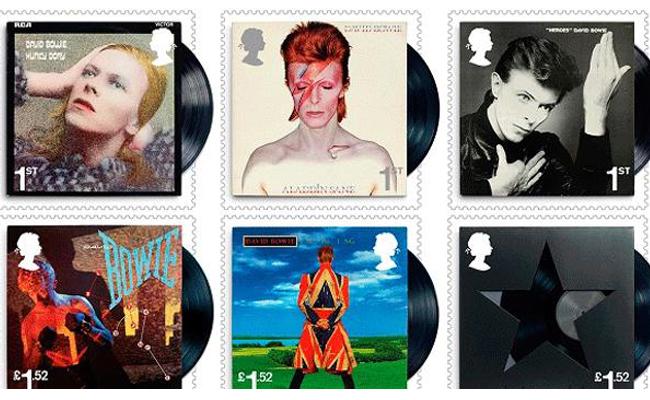 Lanzan al espacio sellos especiales de David Bowie