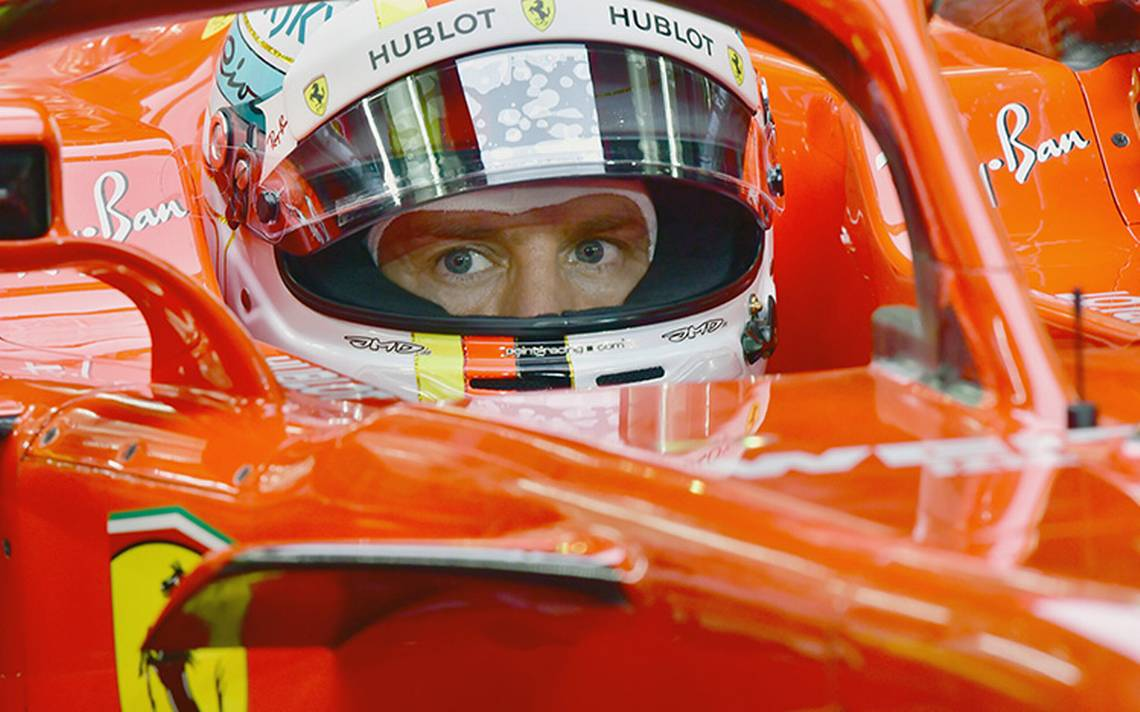 Vettel buscará su tercera victoria en el Gran Premio de China