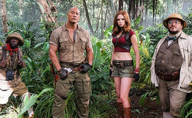 "Revelan trailer de ""Jumanji: Welcome to the jungle"""