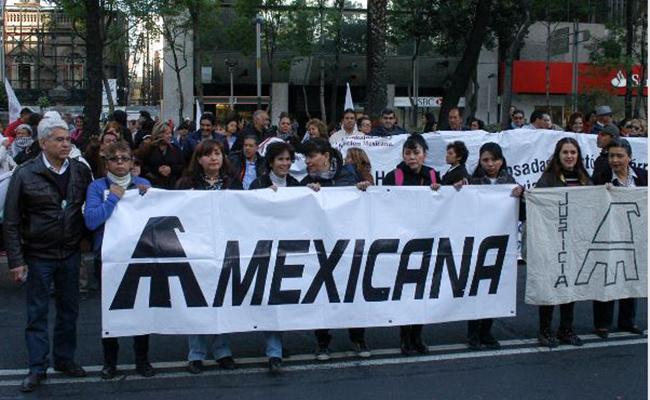Juez federal autoriza pago a trabajadores de Mexicana de Aviación