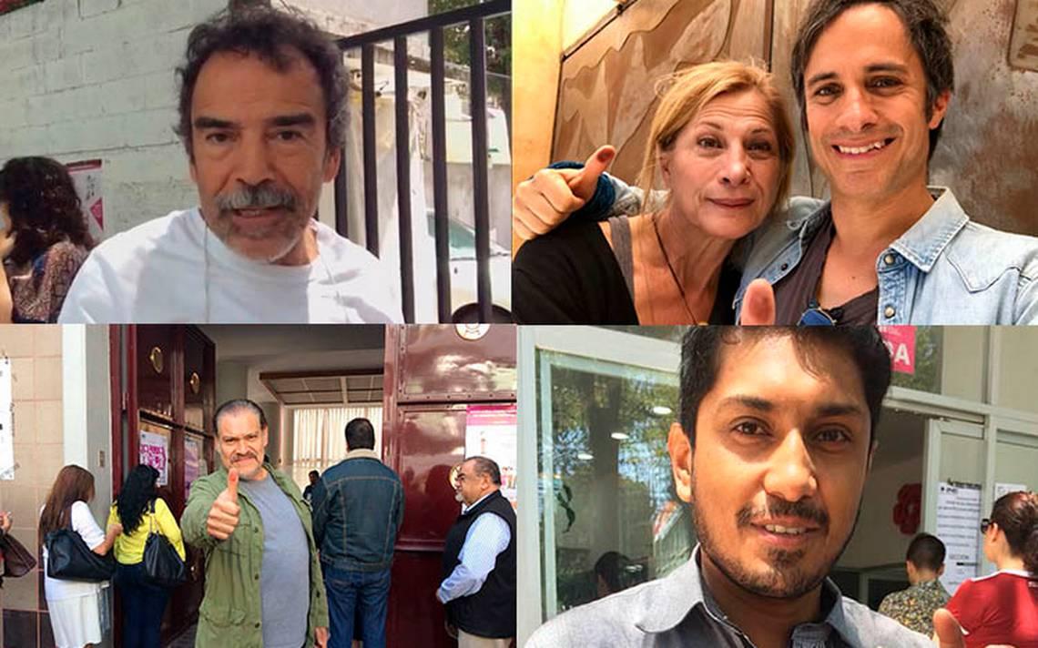 """Famosos desfilan por la """"alfombra roja"""" de casillas electorales para ejercer su voto"""