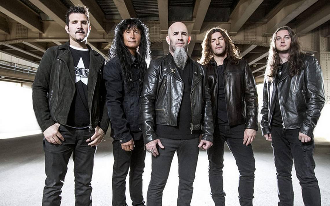 Anthrax ha logrado permanecer en la escena musical