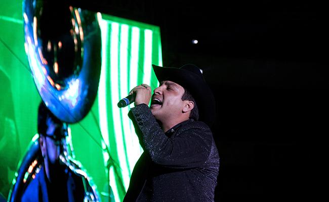 Julión Álvarez sí cantará en Feria de Zacatecas tras escándalo