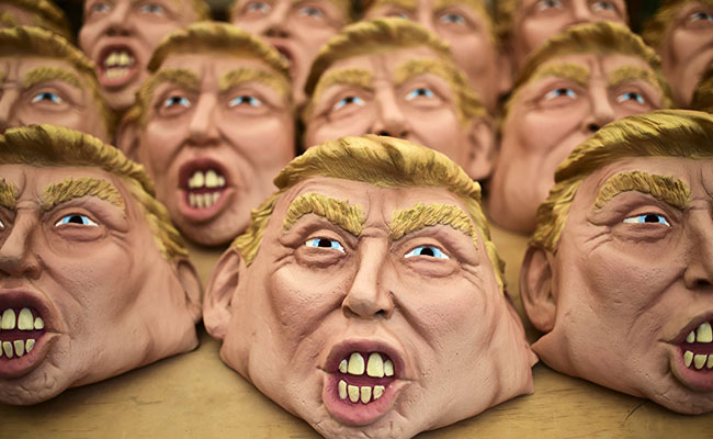 Trump, protagonista de carnaval