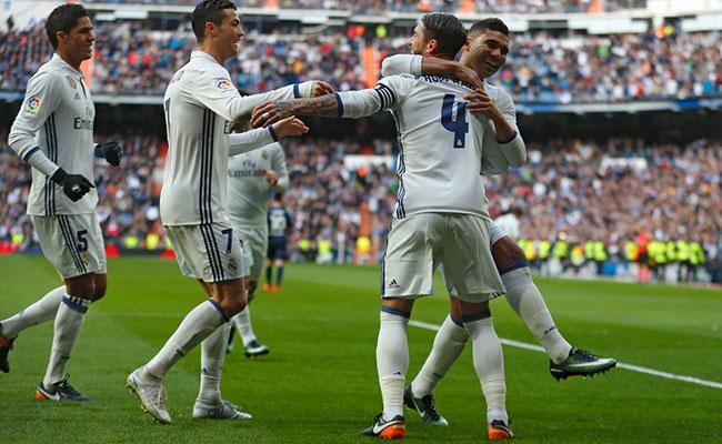 Real Madrid se reencuentra con eltriunfogracias aSergio Ramos