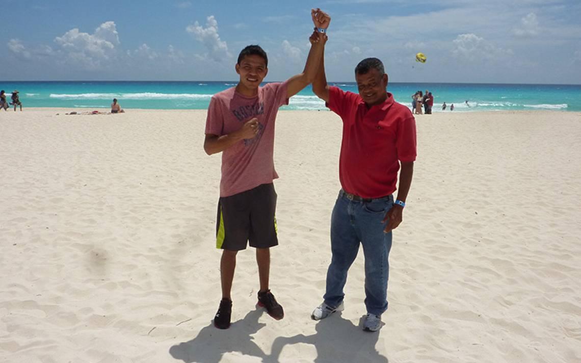 El boxeador Marcos Villasana Jr. desea emular a su padre