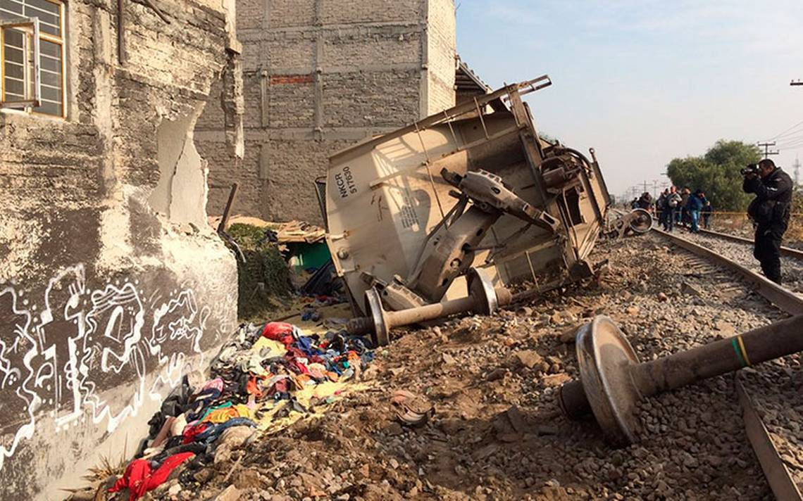 Comisión pide a Ferrovalle y KCSM un informe por accidente de tren en Ecatepec