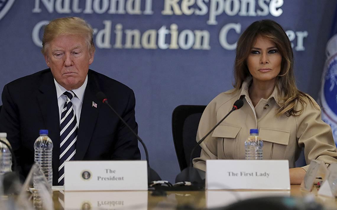 Trump llama vicios e injustos a medios tras especulaciones sobre Melania
