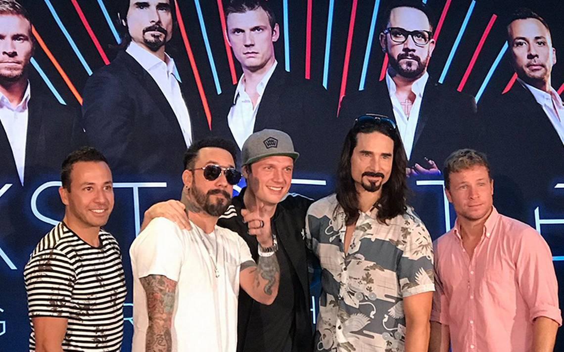 Backstreet Boys ya listos para su 25 aniversario: cierran gira en Cancún