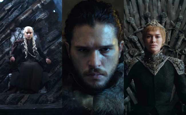¡Los Tres Reyes protagonizan el nuevo teaser de Game of Thrones!