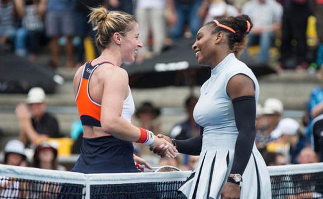 Serena Williams debuta con victoria en Abierto de Auckland
