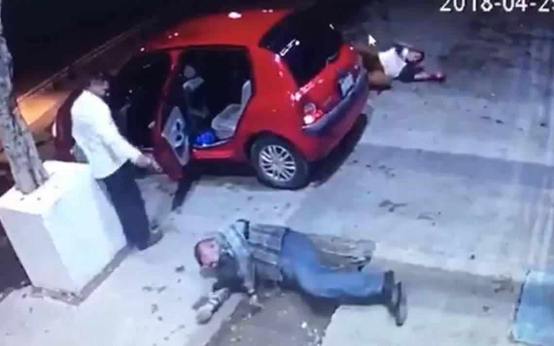 Difunden video de balacera que dejó dos muertos en la Miguel Hidalgo