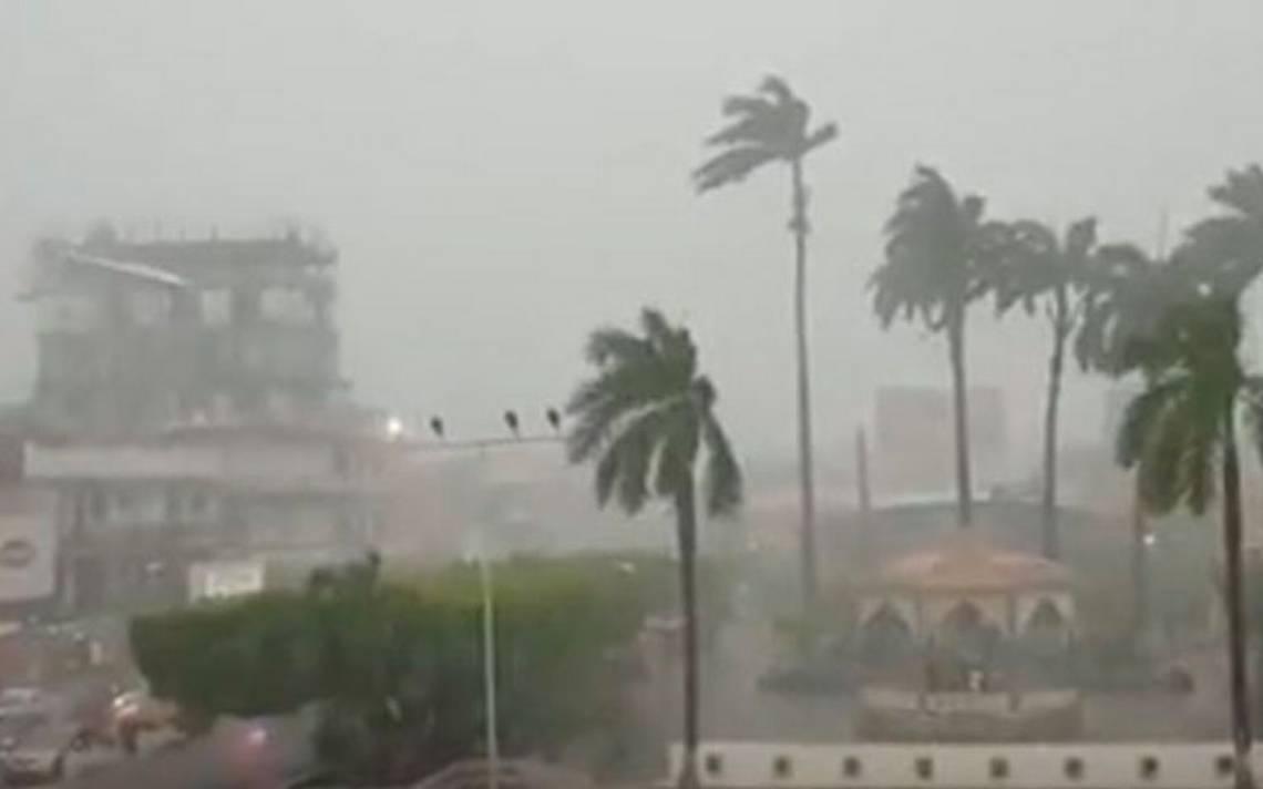 [Video] ¡El cambio climático nos alcanza! Inusual granizada azota a la costa de Chiapas
