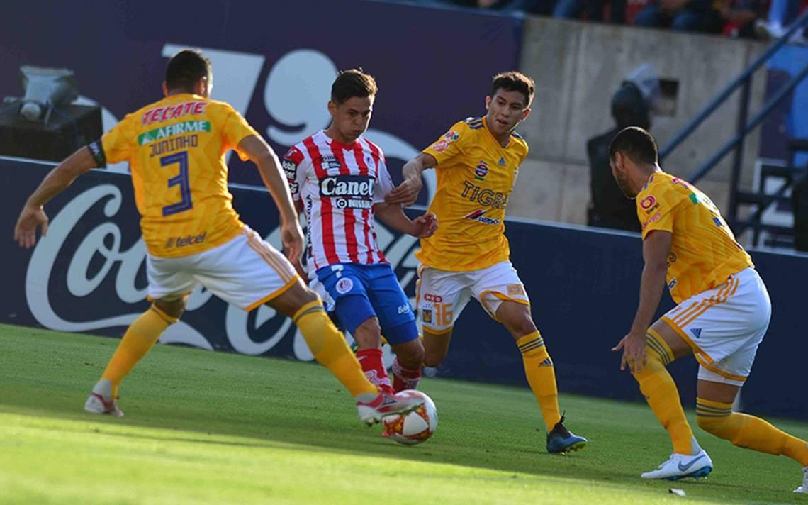 Atlético de San Luis sorprende y vence a Tigres en el arranque de Copa MX