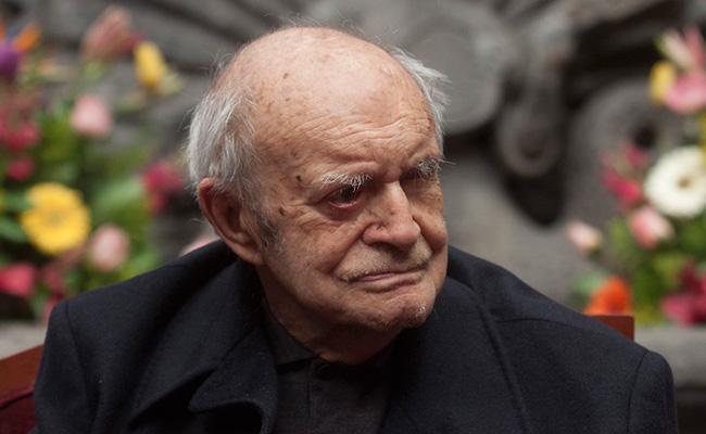 Secretaría de Cultura rendirá homenaje al poeta Ramón Xirau