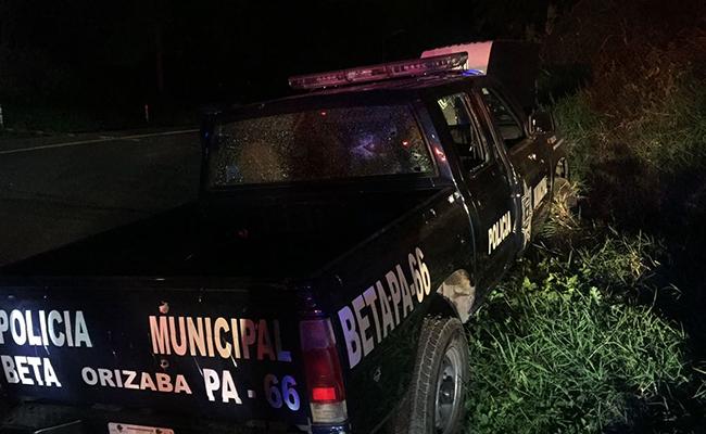 Mueren dos policías municipales de Orizaba tras balacera