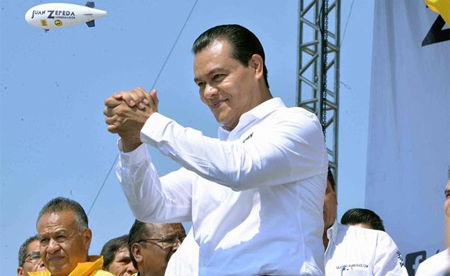 Promete Zepeda retomar ideales de Zapata y Villa