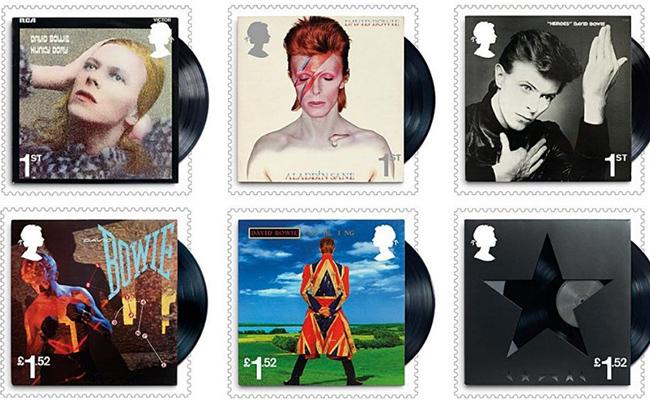David Bowie le dará la vuelta al mundo como sello postal
