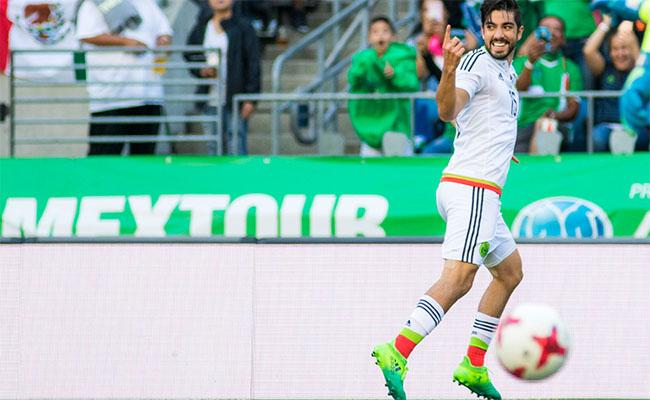 México vence 2-1 Paraguay previo al arranque de Copa Oro