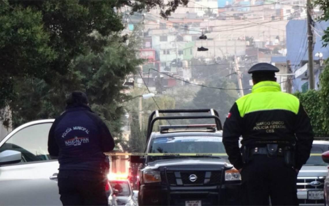 Intento de asalto automovilA�stico deja dos muertos en Naucalpan