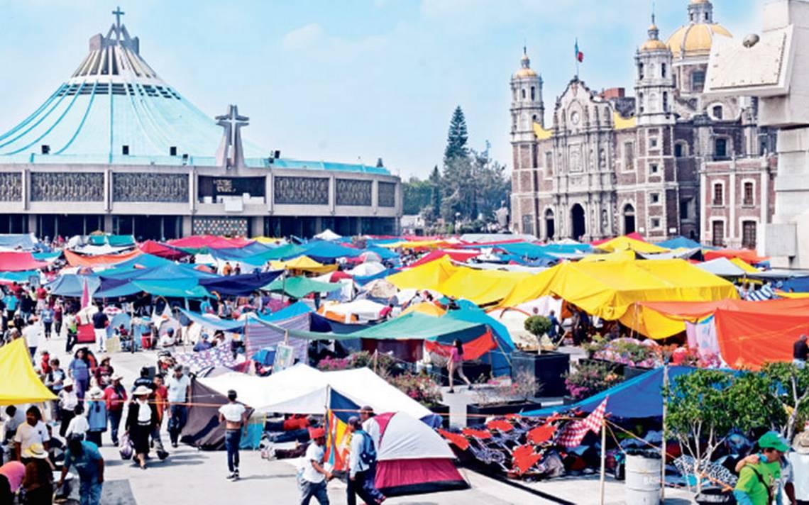 Comerciantes establecidos en la Basílica denuncian invasión de comercio informal