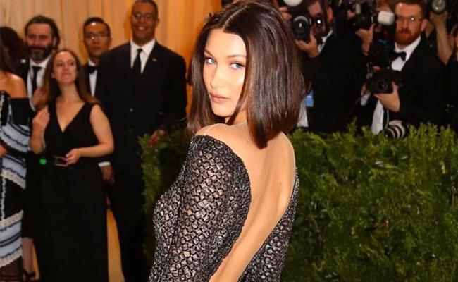 Bella Hadid sorprende en diminuta pieza de lencería a Instagram
