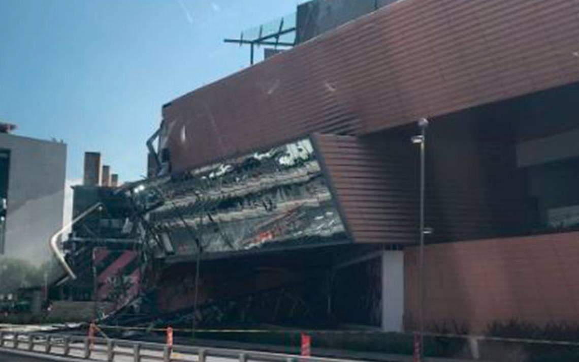 Procuraduría abre carpeta de investigación por derrumbe en plaza Artz Pedregal