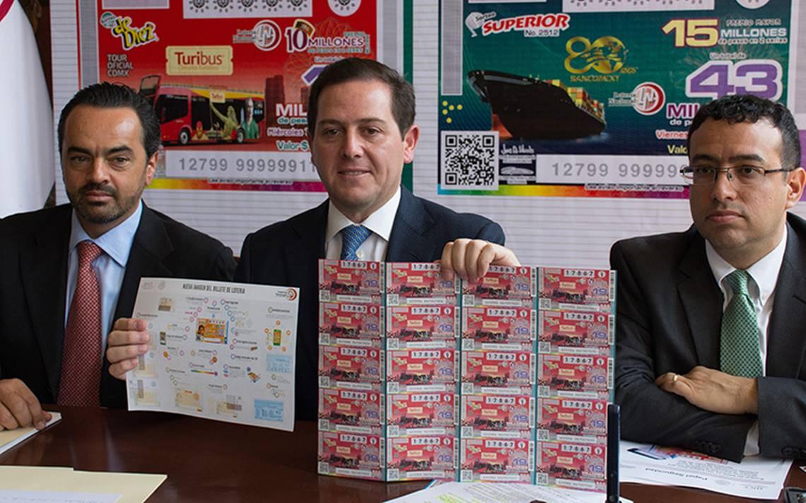 Pablo Pedro Treviño renuncia a la Lotería Nacional