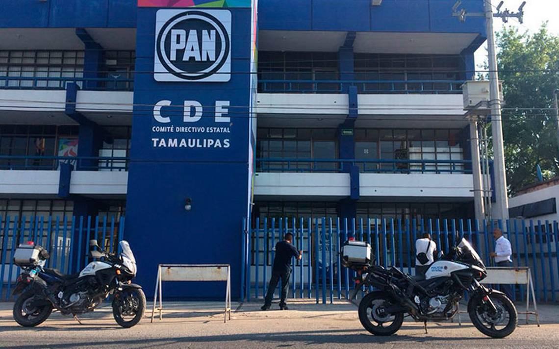 Disparan contra instalaciones del PAN en Cd. Victoria, Tamaulipas