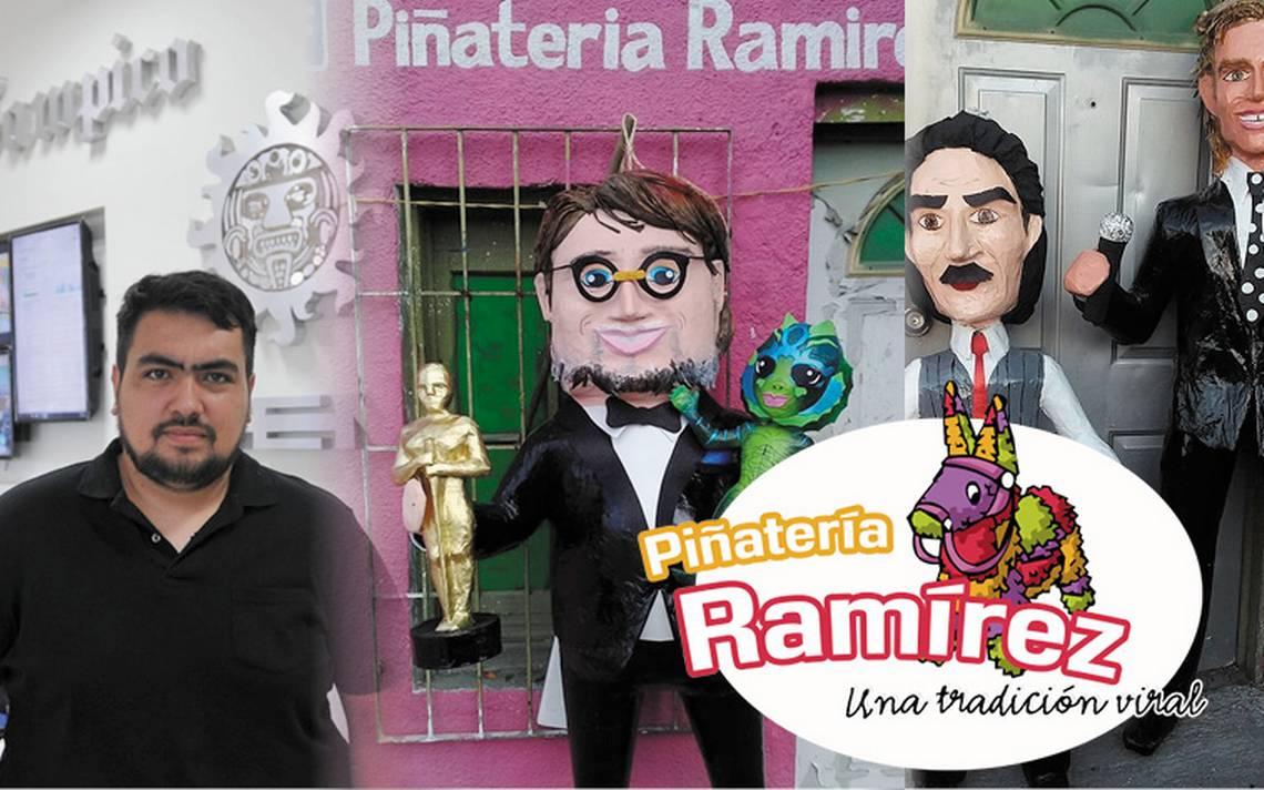 Toda una tradición, Piñatería Ramírez transforma lo viral en piñatas
