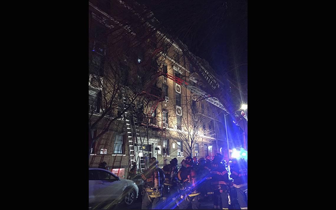 Incendio en edificio del Bronx deja al menos 12 muertos: alcalde