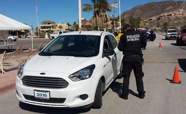 Inicia operativo contra vidrios polarizados de autos en BCS