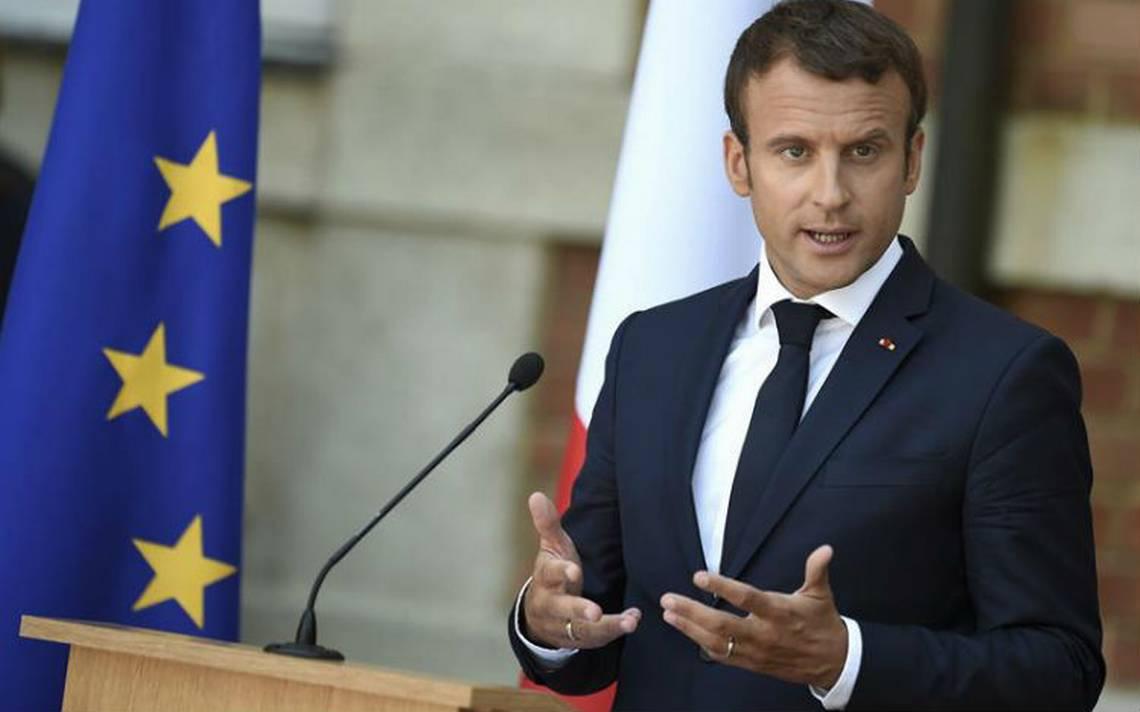 Macron enfrenta una semana explosiva en medio de caída de popularidad