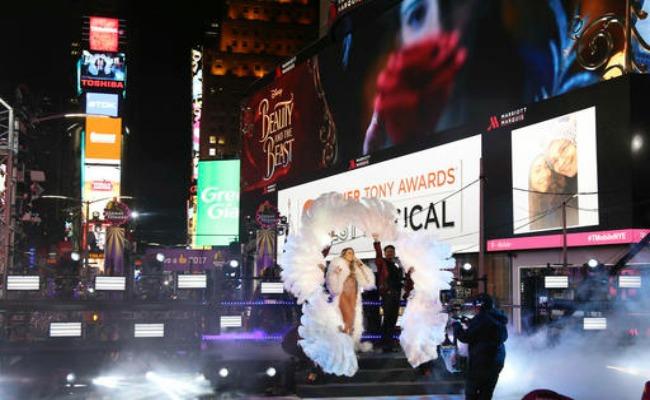 Así se vivió el año nuevo en el emblemático Times Square