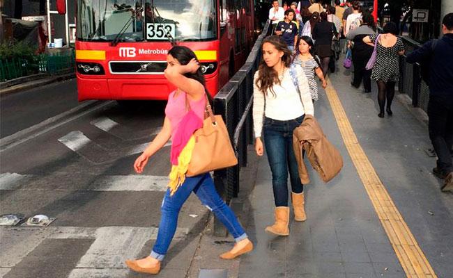 Conoce las agresiones más comunes a mujeres en el transporte de la CDMX