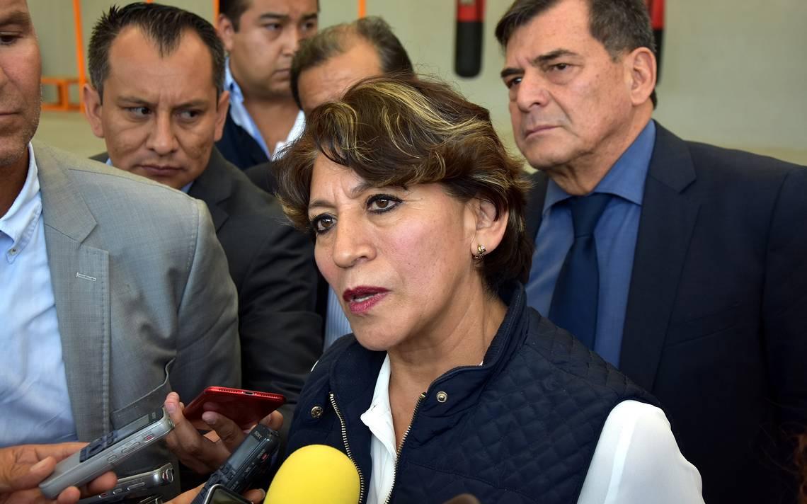 No le pondré el pie al gobernador: Delfina Gómez Álvarez