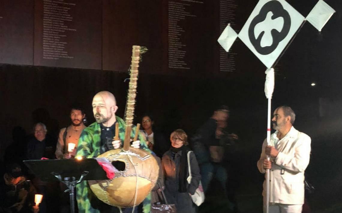 Con ritos de la India, conmemoran el 50 aniversario del Movimiento Estudiantil del 68