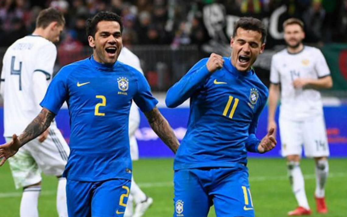 Brasil gana sin Neymar con más goles que juego