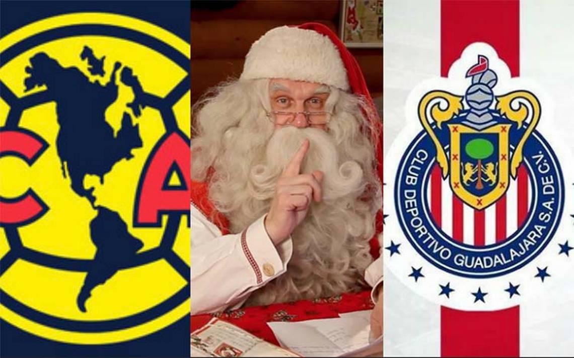 ¿Qué le pidieron a Santa Claus los equipos de la Liga MX?