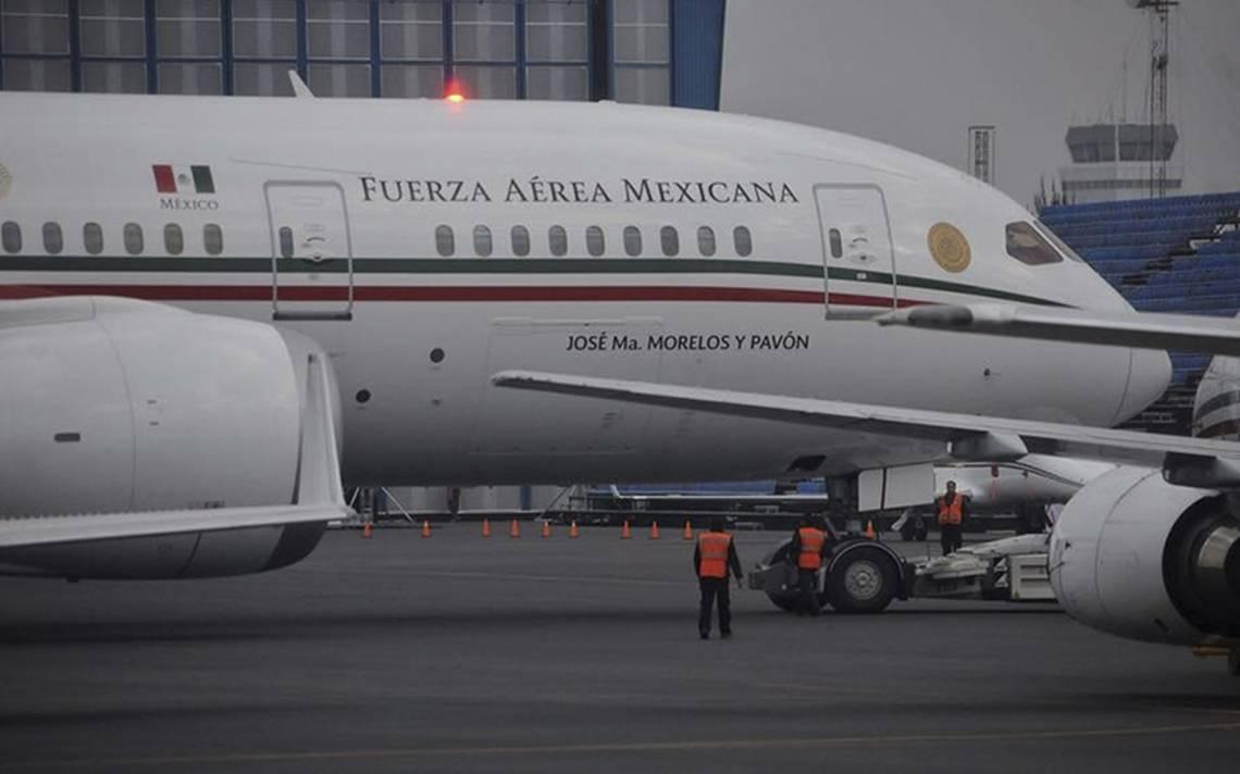 Avión presidencial que quiere vender AMLO presenta falla antes de volar a Puerto Vallarta