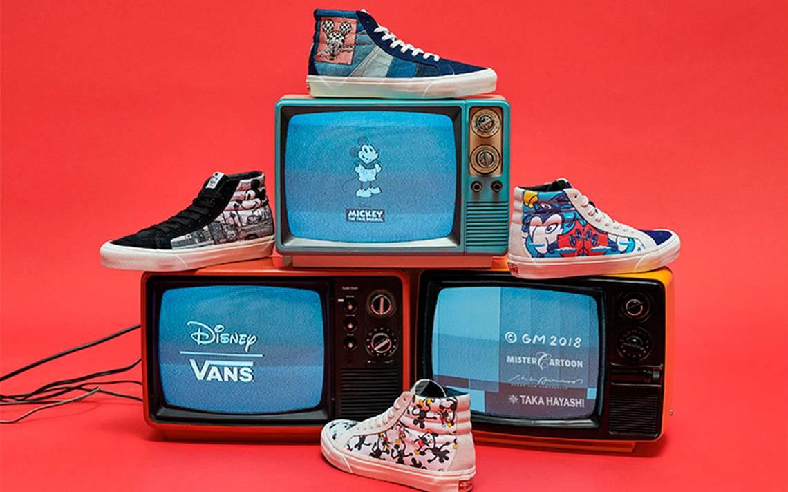 Vans festeja los 90 aA�os de Mickey Mouse con nueva colecciA?n