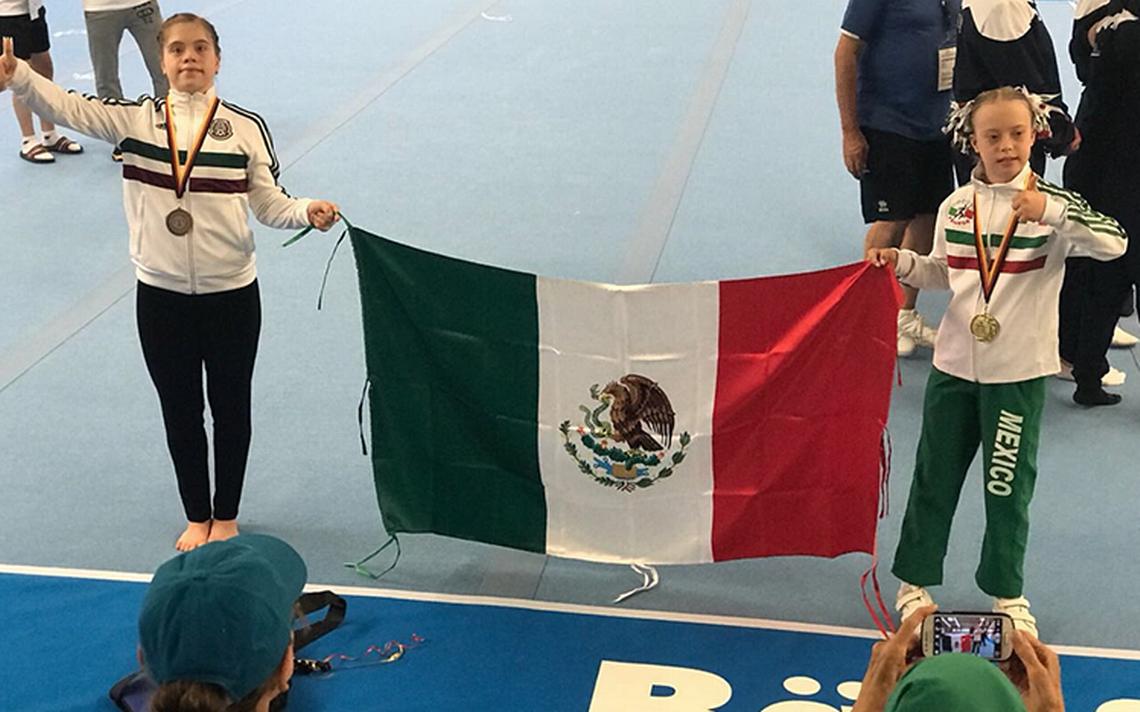 """""""Bibi"""" logra oro en campeonato Mundial de Gimnasia Síndrome de Down 2018"""